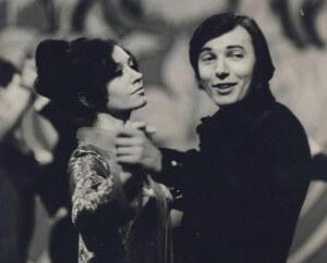 Antonie Zacpalová a Karel Gott mladí