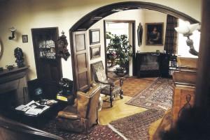 Vila Karla Gotta na Bertramce interiér