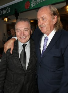František Janeček a Karel Gott