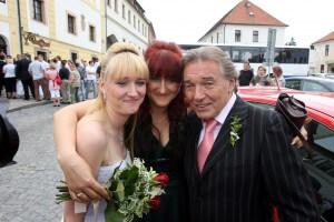 Iveta Kolářová, Lucie Kolářová Kovaříková a Karel Gott