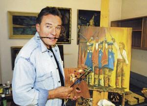 Karel Gott - mistrovy obrazy, malby