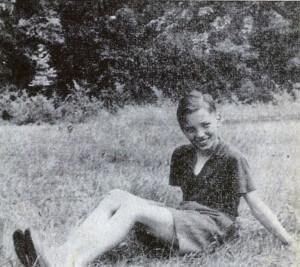 Malý Karel Gott jedináček