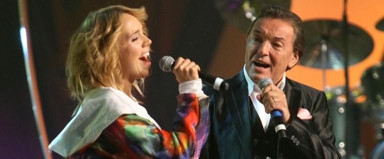 Karel Gott a Lucie Vondráčková
